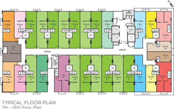Site Plan of Avenue D'Vogue