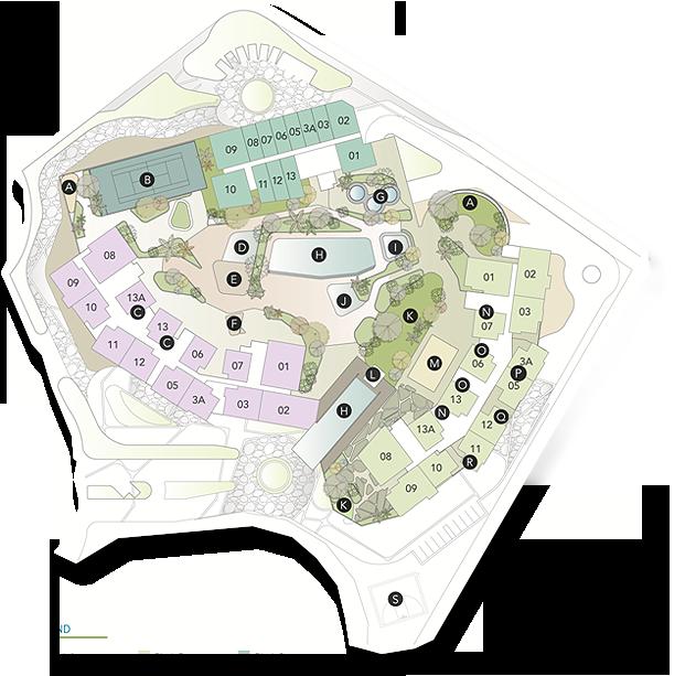 Site Plan of Tropez Residences