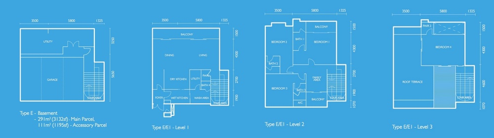 The Light Collection I Type E Floor Plan