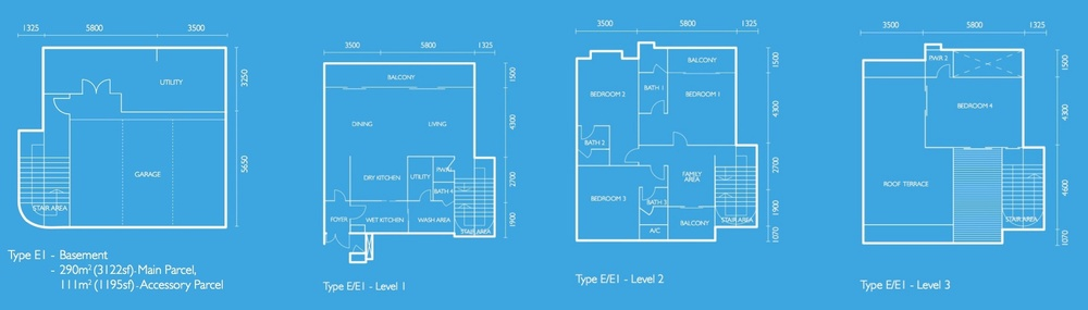 The Light Collection I Type E1 Floor Plan