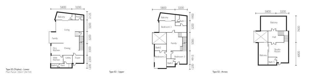 The Light Collection II Type E2 Floor Plan