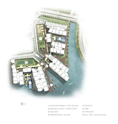 Site Plan of The Light Collection II