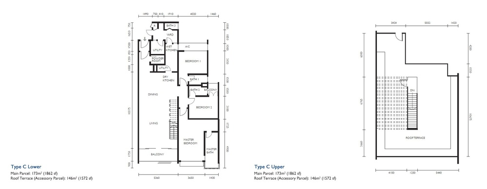 The Light Collection III Type C Floor Plan
