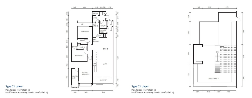 The Light Collection III Type C1 Floor Plan
