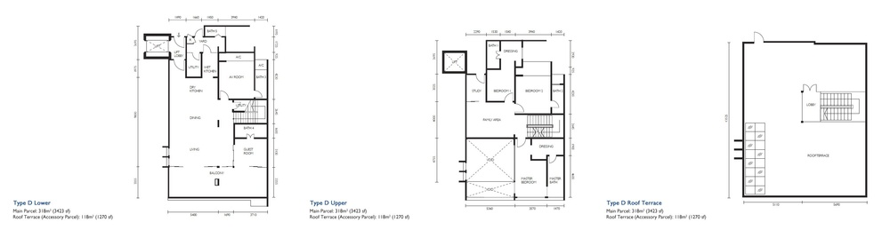The Light Collection III Type D Floor Plan