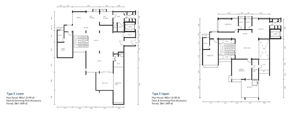 The Light Collection III Type E Floor Plan