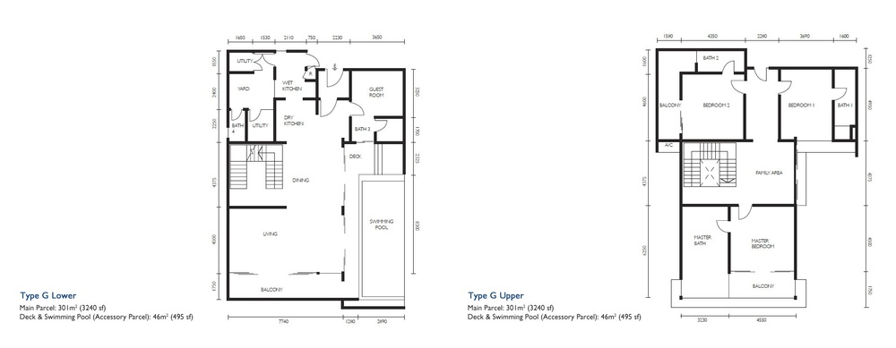 The Light Collection III Type G Floor Plan