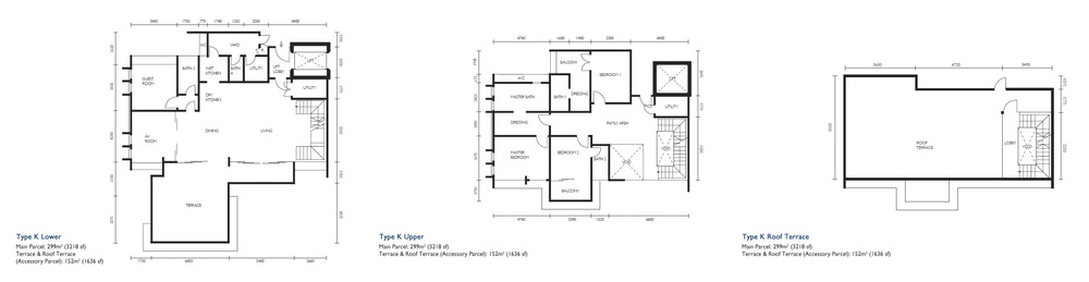 The Light Collection III Type K Floor Plan