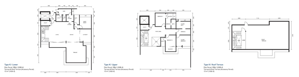 The Light Collection III Type K1 Floor Plan