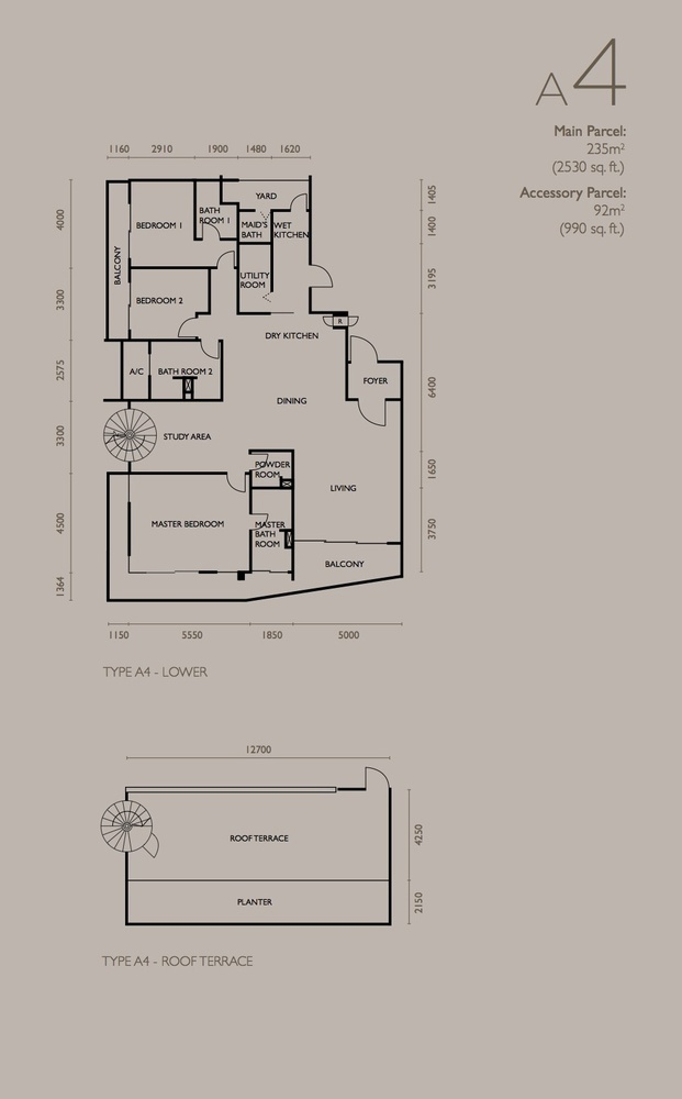 The Light Collection IV Type A4 Floor Plan