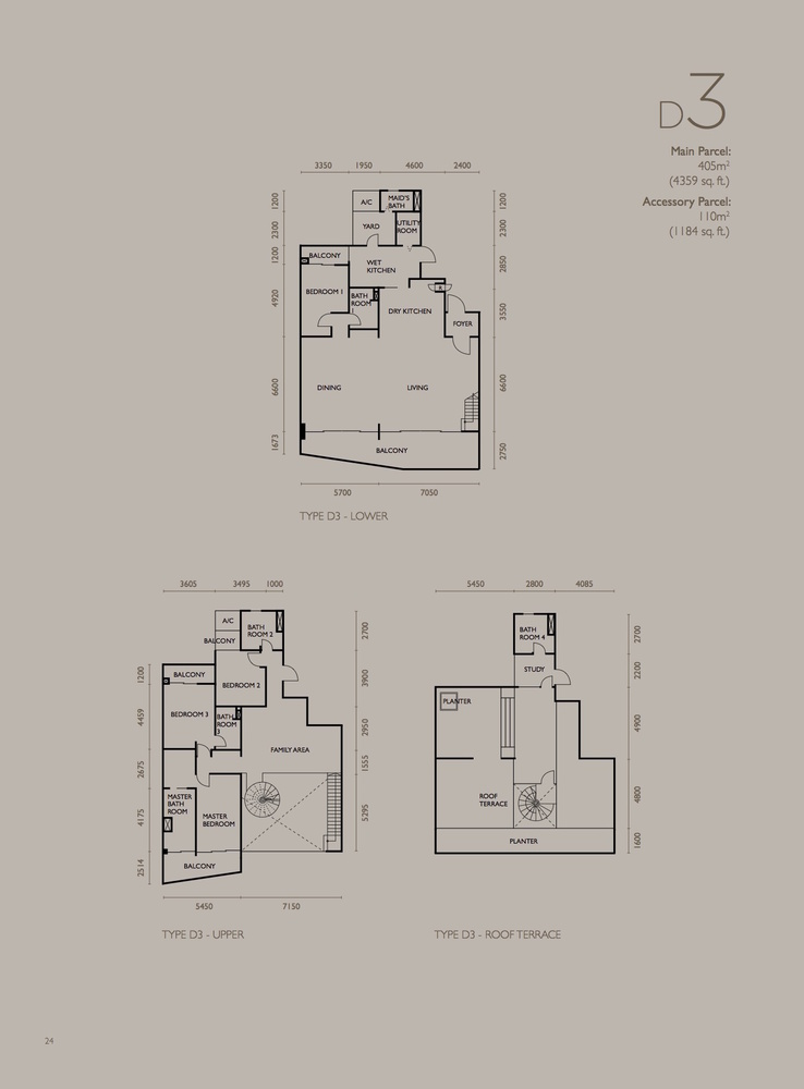 The Light Collection IV Type D3 Floor Plan