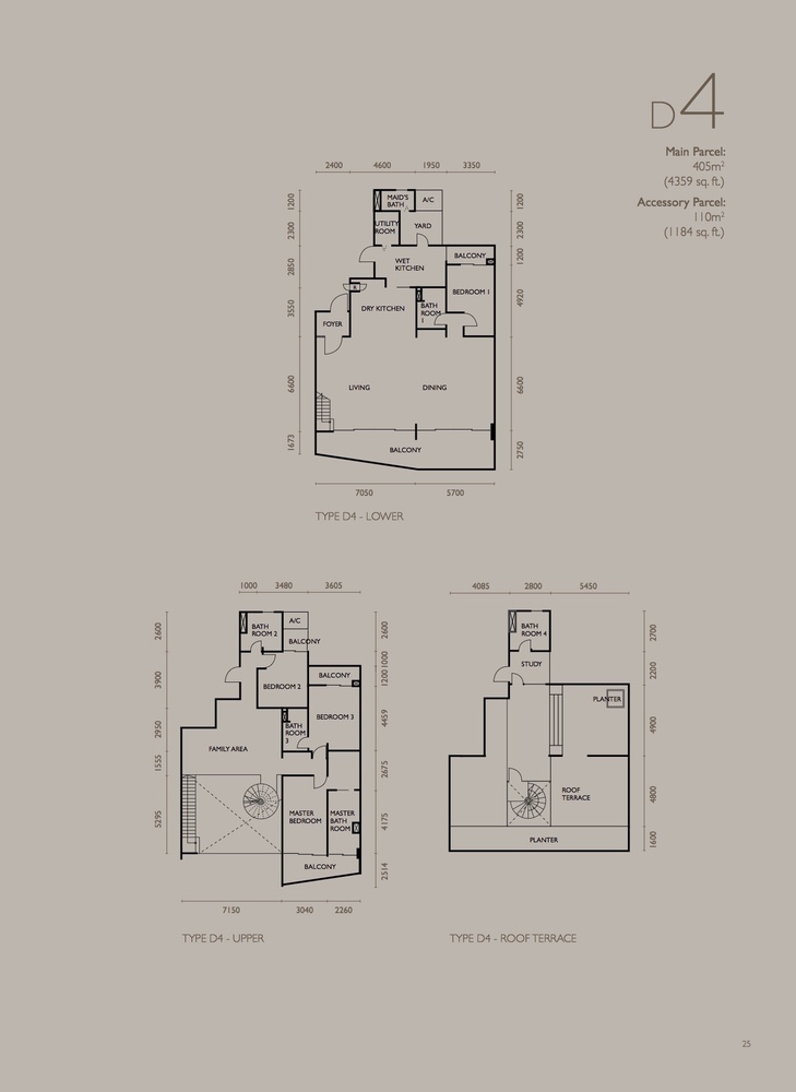 The Light Collection IV Type D4 Floor Plan