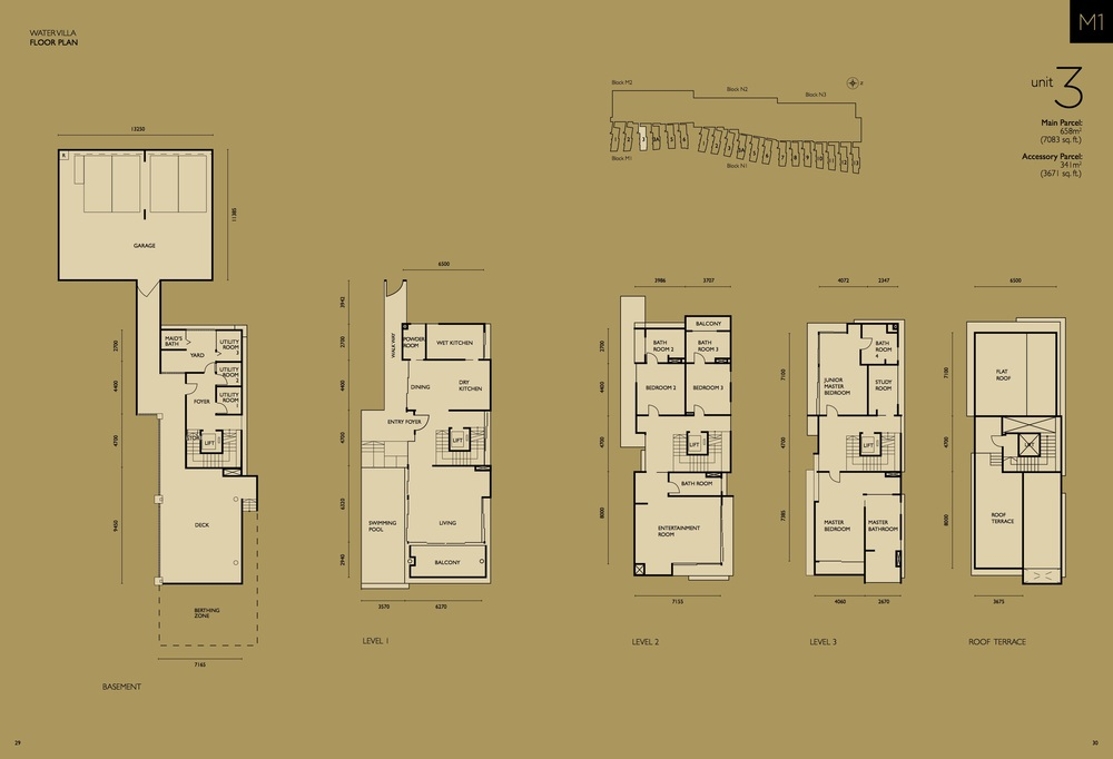 The Light Collection IV M1-03 Floor Plan