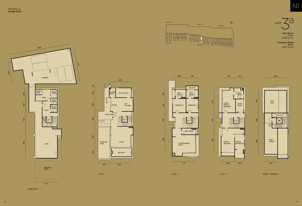 The Light Collection IV N1-03A Floor Plan