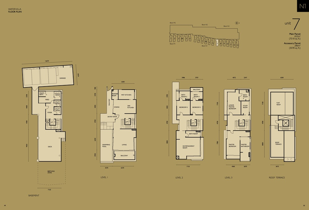 The Light Collection IV N1-07 Floor Plan
