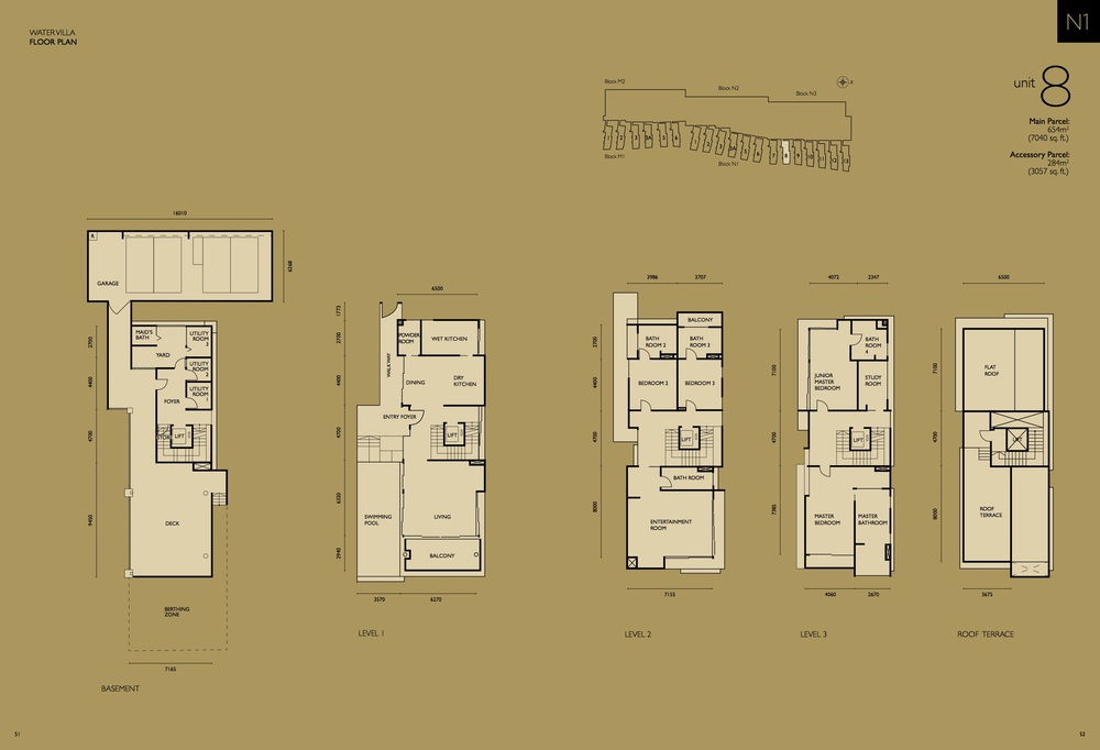 The Light Collection IV N1-08 Floor Plan
