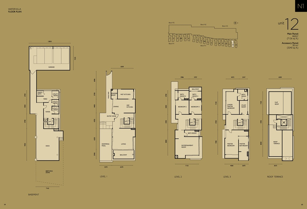 The Light Collection IV N1-12 Floor Plan