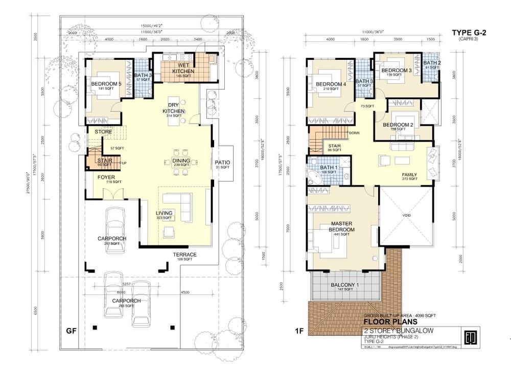 Juru Heights Capri 3 - Type G2 Floor Plan
