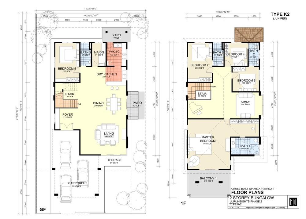 Juru Heights Juniper - Type K2 Floor Plan