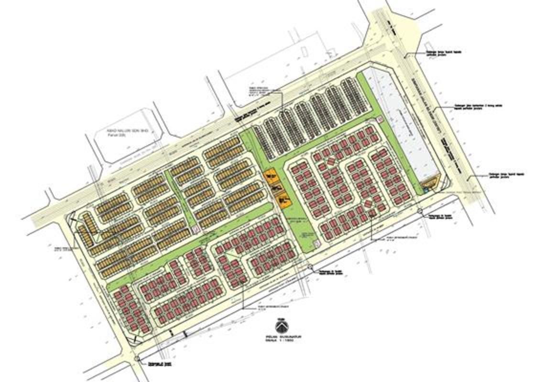 Master Plan of Halaman Seroja