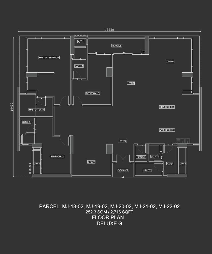 Dua Menjalara Deluxe G Floor Plan