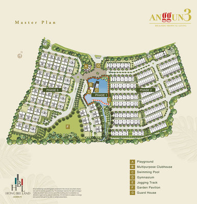 Master Plan of Anggun 3