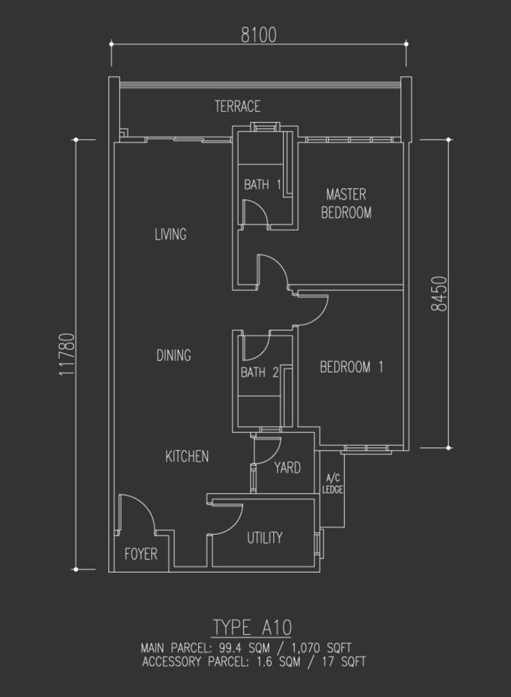 Selayang 18 Type A10 Floor Plan