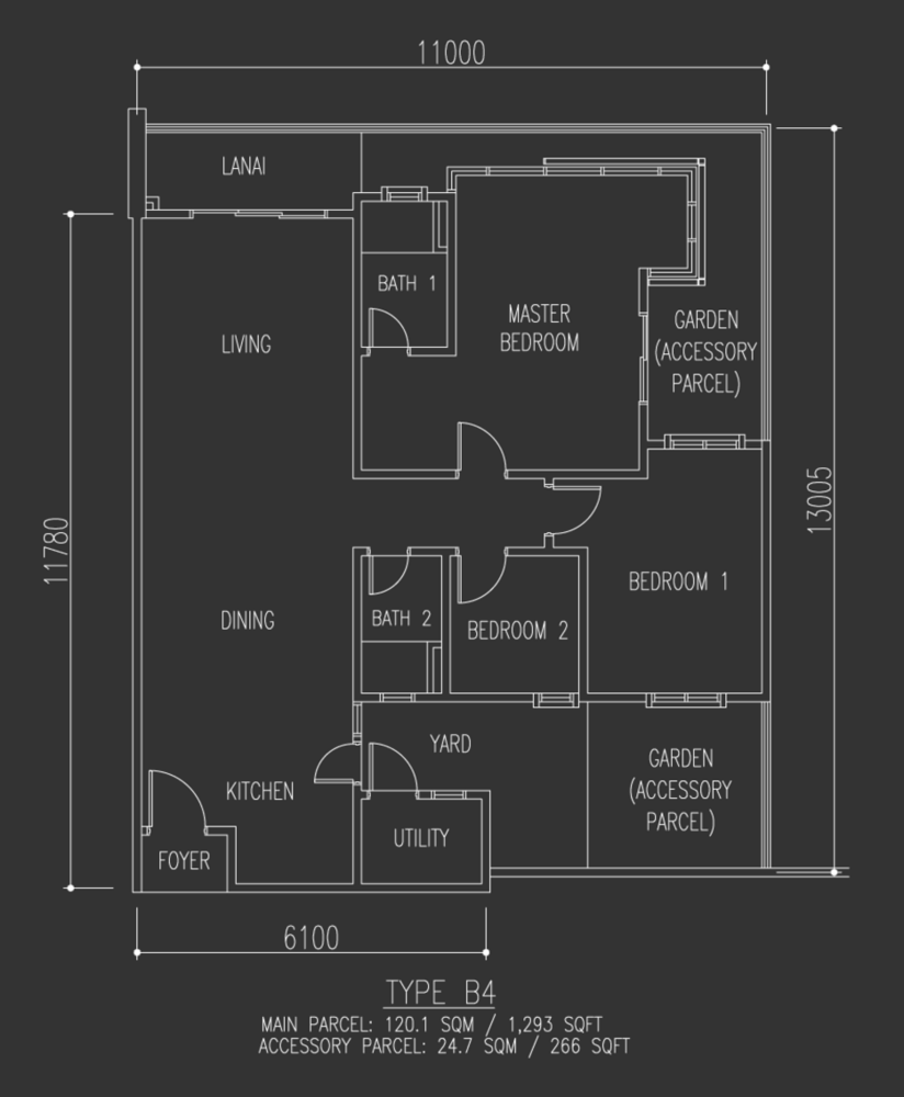 Selayang 18 Type B4 Floor Plan