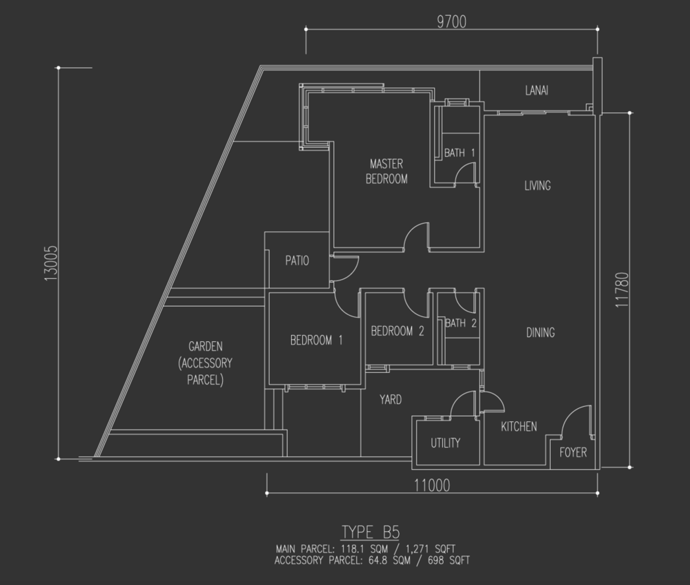 Selayang 18 Type B5 Floor Plan