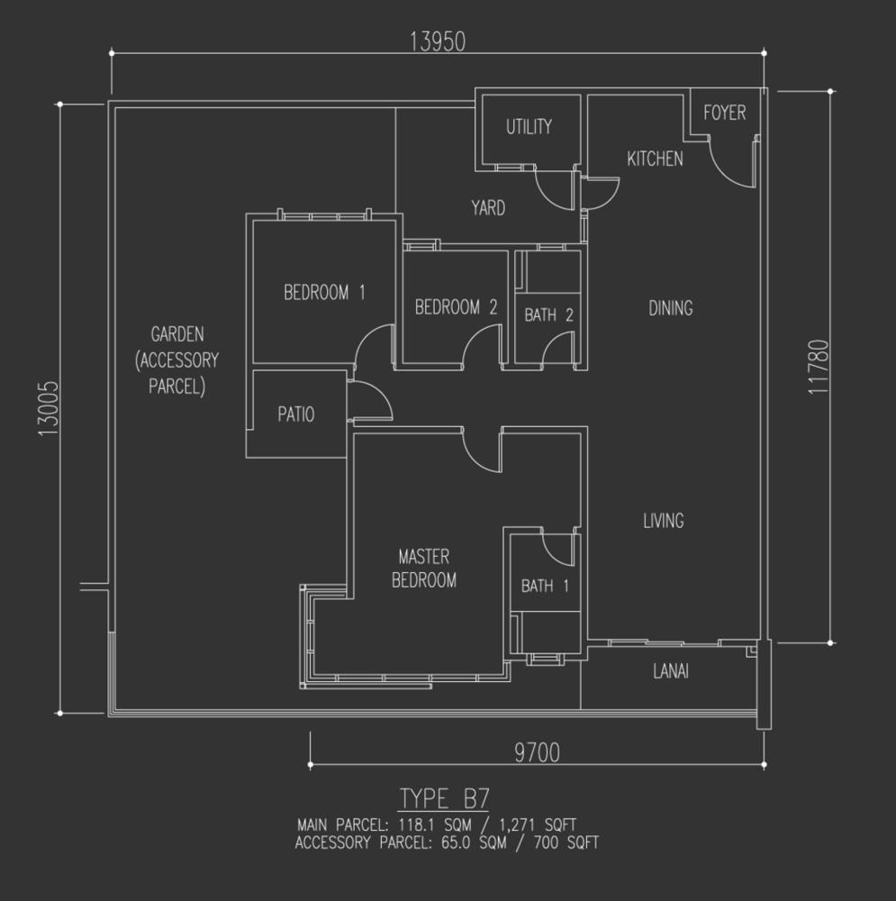 Selayang 18 Type B7 Floor Plan