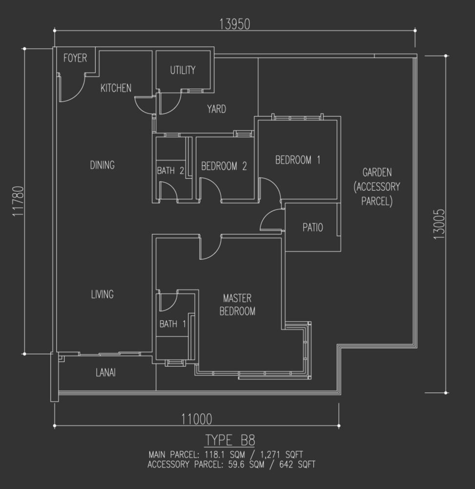 Selayang 18 Type B8 Floor Plan
