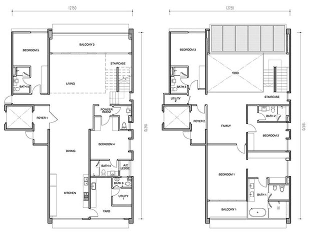 Seri Ampang Hilir Type AP2 Floor Plan