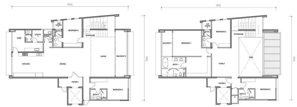 Seri Ampang Hilir Type CP Floor Plan