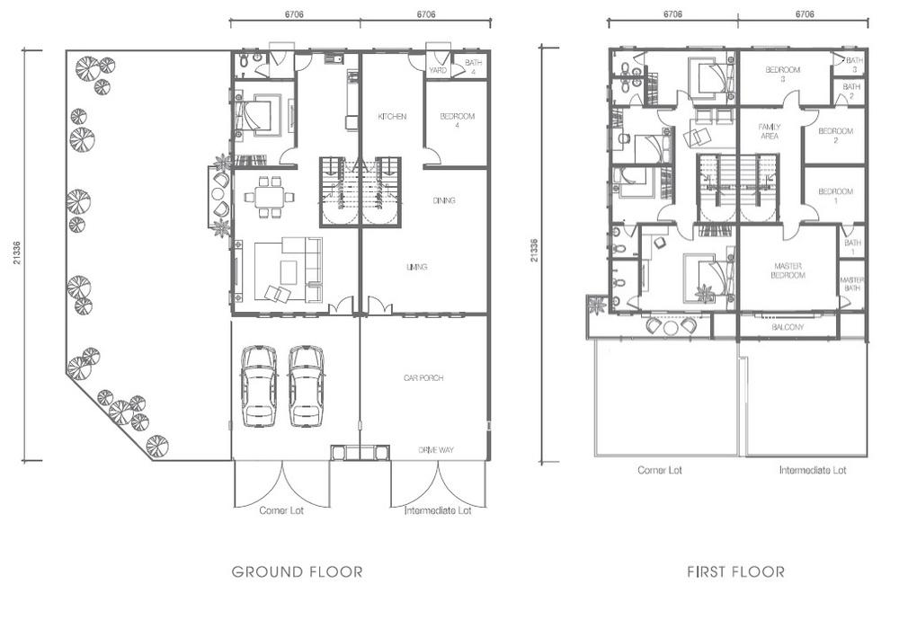 Nusa Intan Nusa 13 Floor Plan