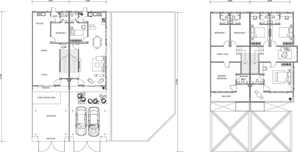 Nusa Intan Nusa 16 Floor Plan