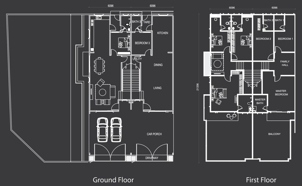 Nada Alam Nada 1 - Type B Floor Plan