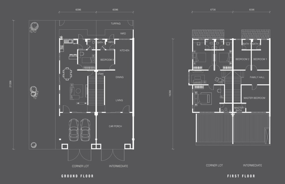 Nada Alam Nada 2 - Double Storey Terrace Floor Plan