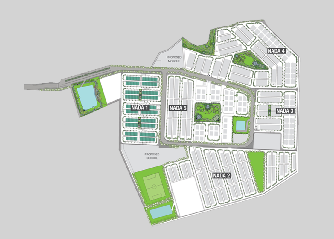 Master Plan of Nada Alam