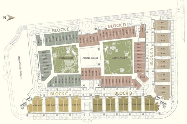 Site Plan of Tamarind Square