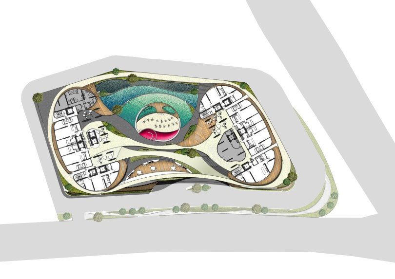 Site Plan of Arte S