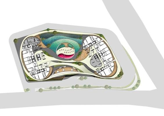 Site Plan of Arte S