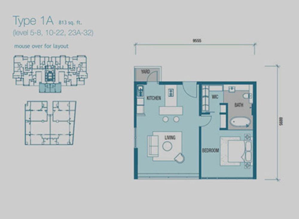 Imperia Type 1A Floor Plan