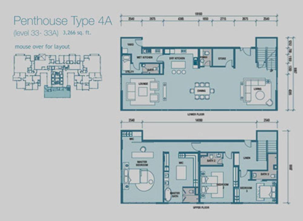 Imperia Type 4A Floor Plan