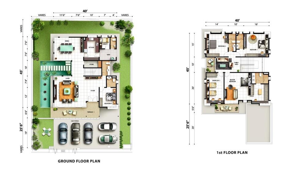 Tropicale Residency Durio  Floor Plan