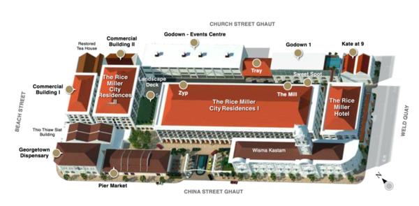 Master Plan of The Rice Miller City Residences