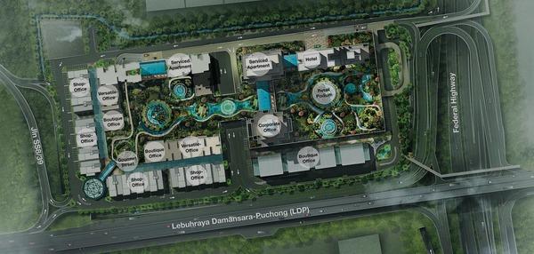 Master Plan of Icon Residenz