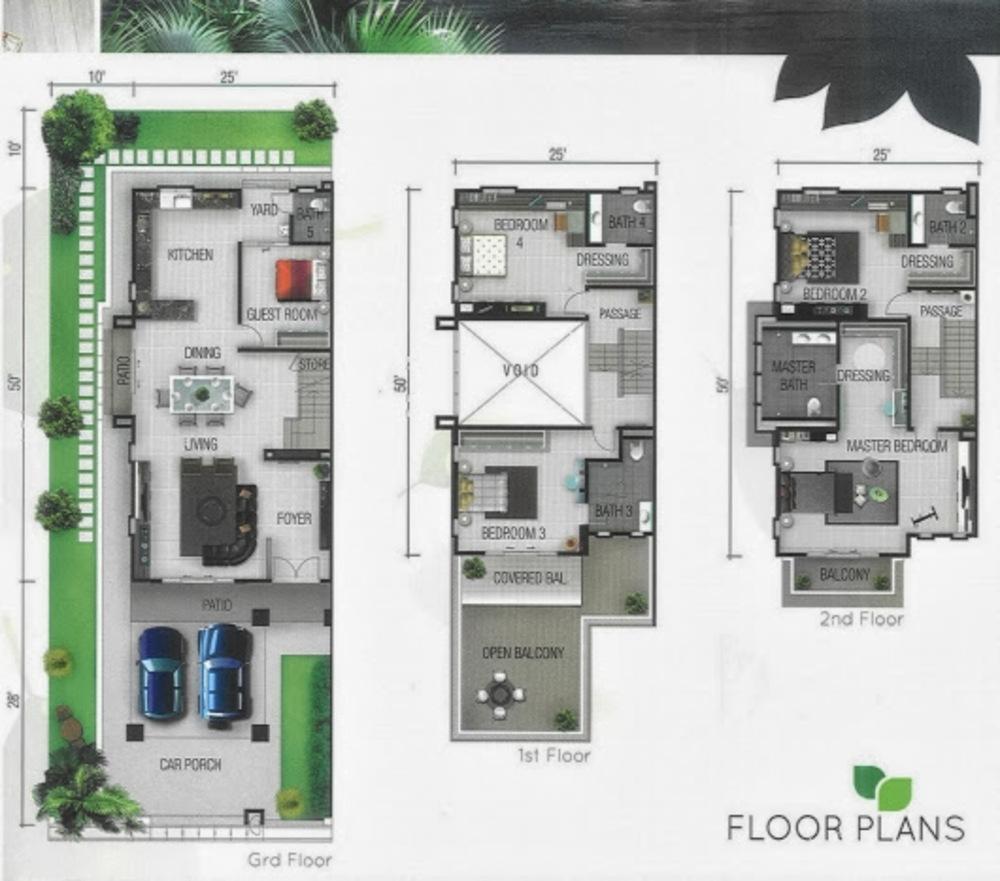 98 Greenlane Super Semi Detached Floor Plan