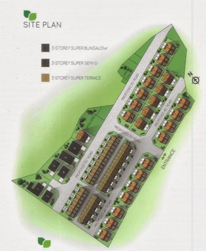 Master Plan of 98 Greenlane