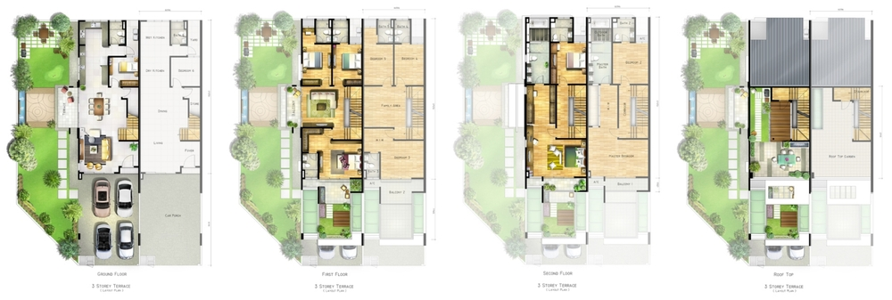 Raffel Residence 199 Standard Unit Floor Plan