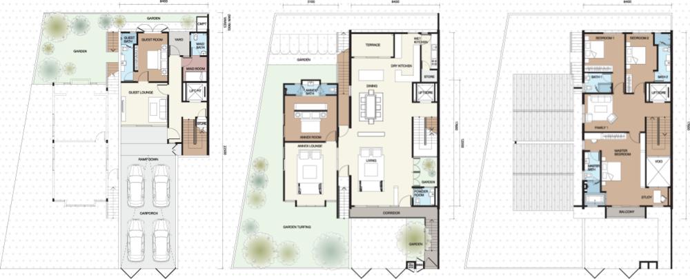Vilaris Type B Floor Plan